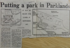 Putting a Park in Parklands 1977